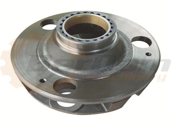 Machined case of gear box