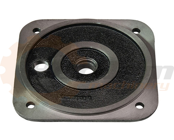 Machining ductile iron parts, Flange