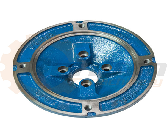 OEM Ductile iron casting parts, Cover for gear box
