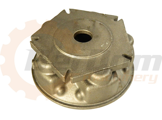 Precision sand casting, ductile iron/CNC machining, hydraulic casting parts